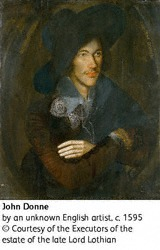 Portrait of John Donne