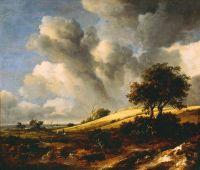 Jacob van Ruisdael - Landscape (c1660-65)