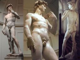 Michelangelo - David (1504) 3 views