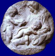 Michelangelo - Tondo Taddei