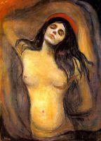 Edvard Munch - Madonna (1893)