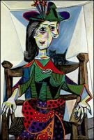 Picasso - Dora Maar with Cat (1941)