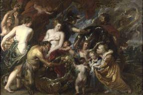Peter Paul Rubens - Minerva protects Pax from Mars (1629-30) © The National Gallery, London