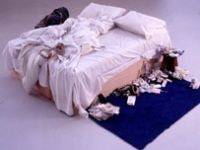 The Star of Saatchi's collection of rubbish: Tracey Emin's My Bed!