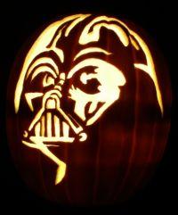 Maureen - Darth Vader pumpkin (2004)