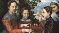 Sofonisba Anguissola - Sisters Playing Chess (1555) © Muzeum Narodowe