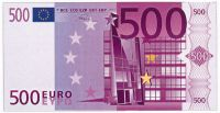 Euro Monopoly money