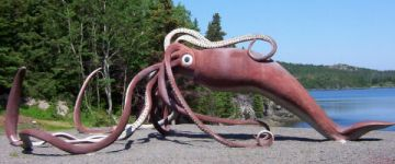 Statue of Giant Squid