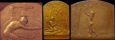 French relief sculptures