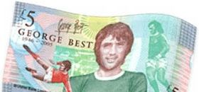 George Best £5 banknote (2006)