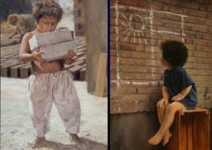 Iman Maleki - Left untitled, right Wish... - with the artist's permission