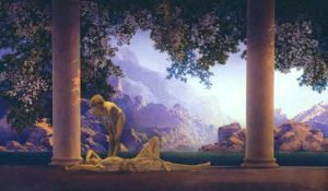 Maxwell Parrish - Daybreak (1922)