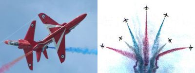 Royal Air Force Display Team: Red Arrows - Photographs E.J. van Koningsveld