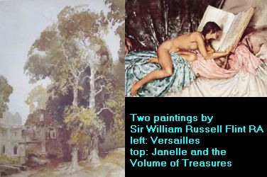 Two paintings by Sir William Russell Flint
