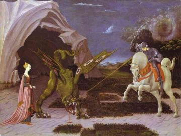Uccello - St George and the Dragon (1460)