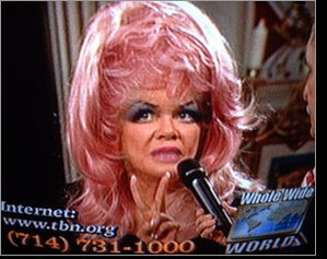 ... and plain old drag queens and then there is jan crouch jan who