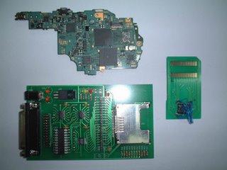 PSP MainBoard, NAND Flash Programer, PSP NAND Flash Adaptor