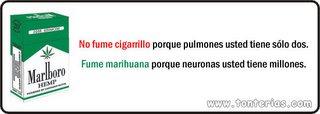 Dejar fumar sin conocimiento de que fuma
