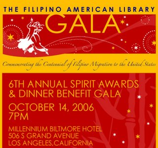 Filipino American Library Gala