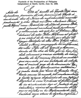 Philippine Declaration of Independence