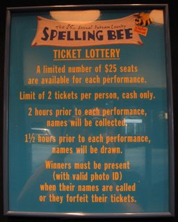 Broadway: Rush Ticket/Lottery Tips Spelling Bee