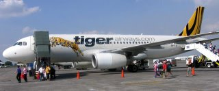 Manila to Singapore on Tiger Airways