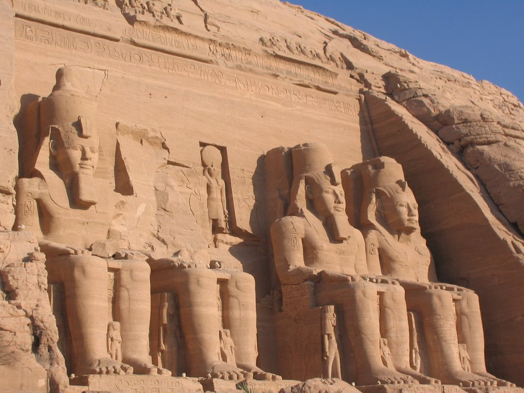 Relocated Ancient Egyptian Monuments