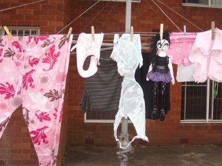 The washing