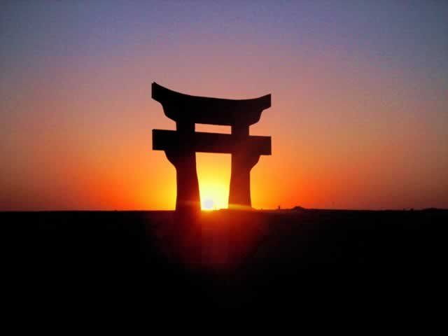 Big Mike The Torii Japanese For Welcome The Rakkasans Use This