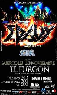 Flyer de Edguy en Torreon