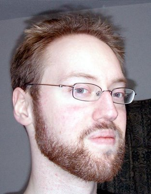 Black bead instead of white beard...
