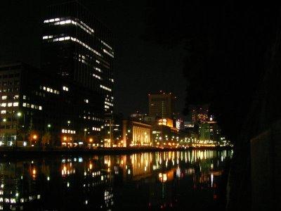 Lake around palace.