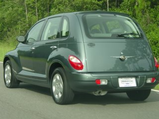 My new PT Cruiser, Maggie