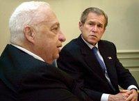 Sharon et Bush
