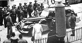 Pétain à la frontière suisse