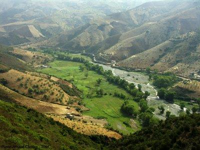 le fond de vallée
