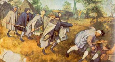 Aveugles de Bruegel