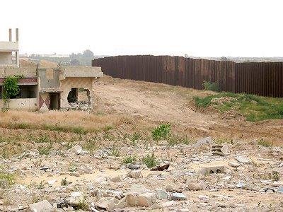 le mur de Rafah