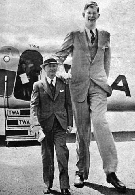 Robert Pershing Wadlow: The World's Tallest Man