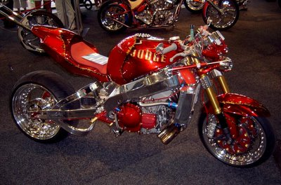 Even a custom sporty and geez...it looked hot