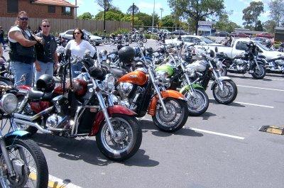 Grizz, Koff, Tiki & the bikes