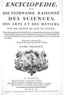 De la Enciclopedia de Diderot...
