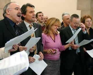 Carod, Mas, De Madre y Piqué (falta Saura, nada raro),... el cuarteto continúa desafinando