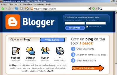 home de blogger en español