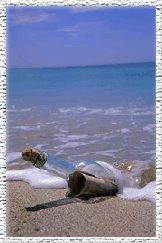 Como mensajes recorriendo el océano dentro de una botella...