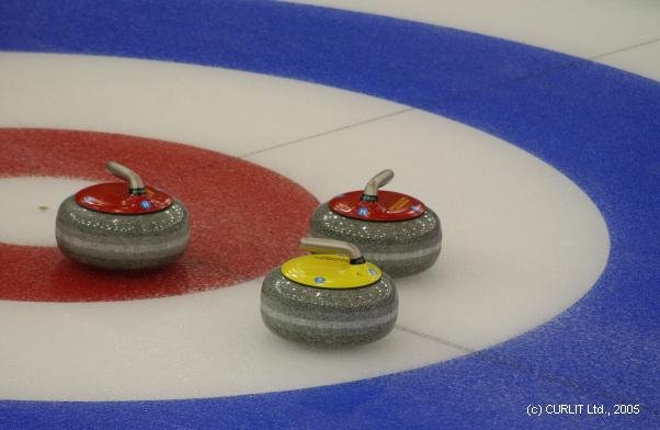 Last Night MY WIFE And I Went To The 2006 World Mens Curling Championship At Tsongas Arena In Lowell Massachusetts