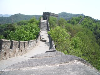The Chinese were well known for their creative use of spirit-levels in the construction of the Great Wall.