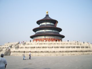 The kick-arse Temple of Heaven, the only circular temple I've ever seen. Wow.