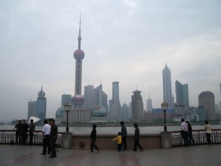Pudong commercial district - fifteen years ago this was a swamp