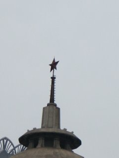 The Red Star still rules over the most capitalist city on Earth